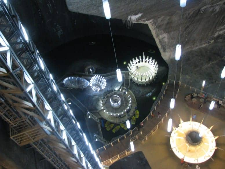 Turda Salt Mine, Turda, Romania 2010